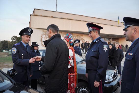 На Черкащині дільничні міліціонери отримали нові авто (ВІДЕО)