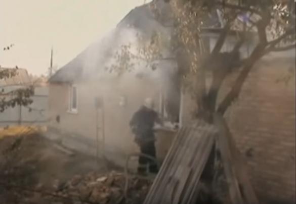 На Черкащині мало не згорів житловий будинок (ВІДЕО)