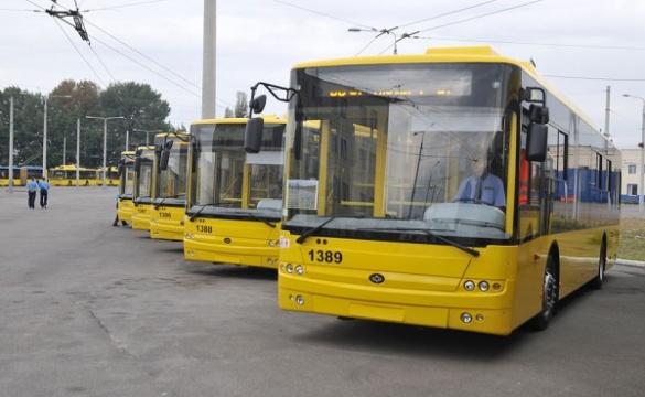 Нові тролейбуси з'являться на вулицях Черкас протягом місяця