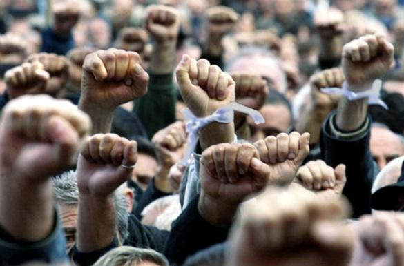 На Черкащині селяни протестують проти невідомого орендаря