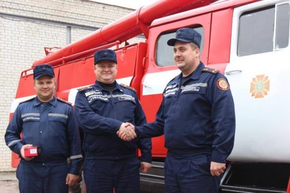 Автопарк черкаських рятувальників поповнився пожежною машиною