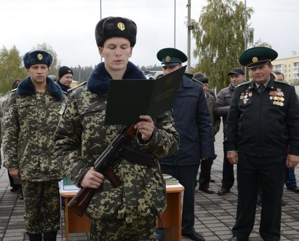 На Черкащині майбутні прикордонники присягнули на вірність народу