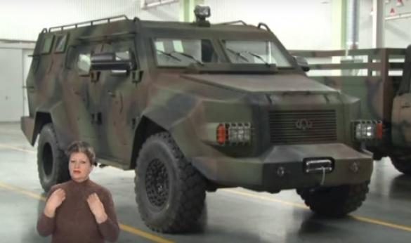 Черкаські майстри створили перший український бронеавтомобіль