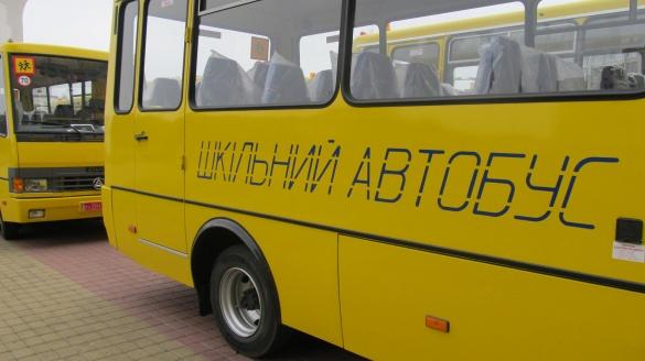 У Черкасах шкільний автобус застряг на дорозі