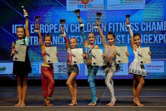 Черкащанки – одні з кращих фітнесисток Європи