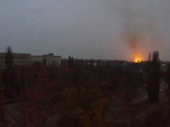 У Черкасах сталася пожежа на сміттєзвалищі (ФОТО)