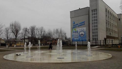 У листопаді в Черкасах ще працює фонтан