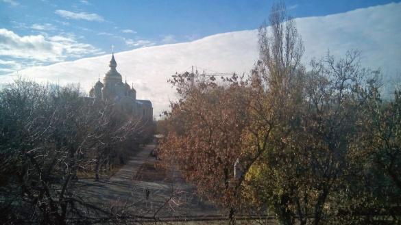 Небо навпіл: містяни у захваті від дива природи у Черкасах