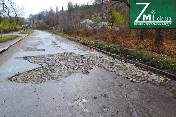 Вулицю Гагаріна у Черкасах можливо відремонтують наступного року