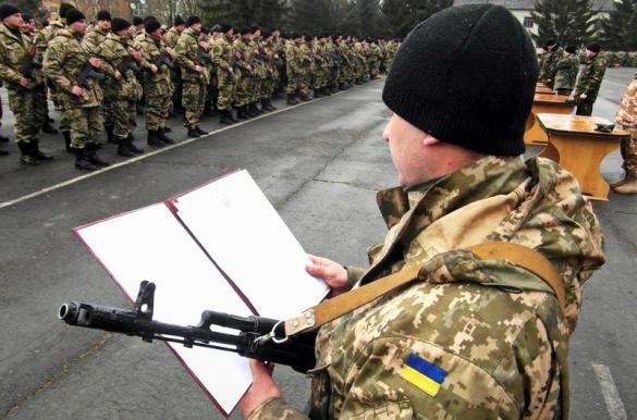 Близько 30 юнаків на Черкащині вступили на службу до лав ЗСУ