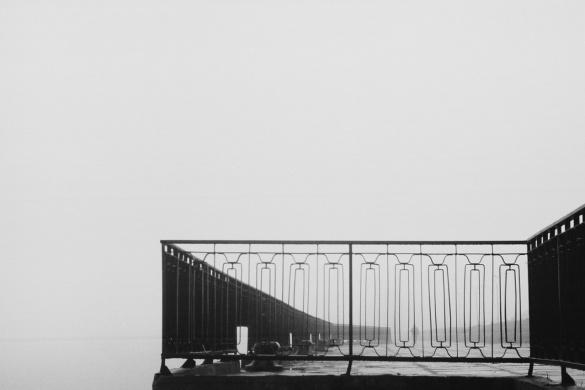 Містичні фото міста в осінньому тумані захоплюють черкащан