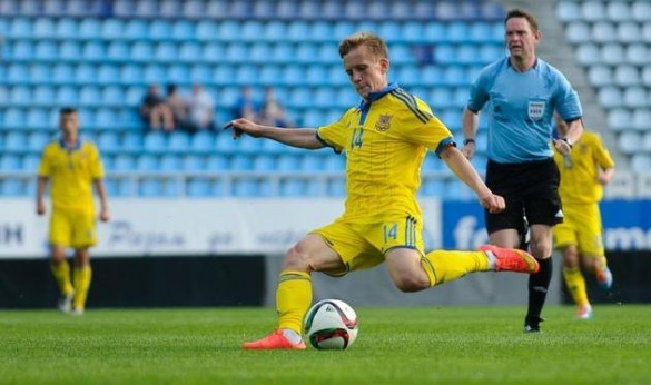 Черкаський футболіст став кращим молодим гравцем України