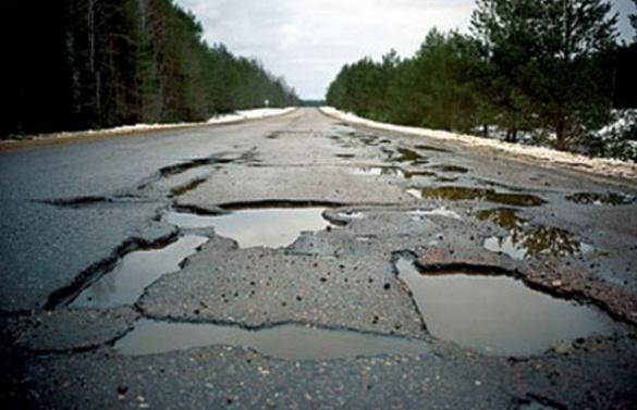 Дороги Черкащини опинилися у рейтингу серед найгірших по Україні