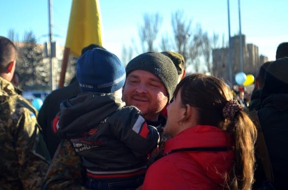 На Черкащину повернулись бійці, які більше року були в АТО (ФОТО)