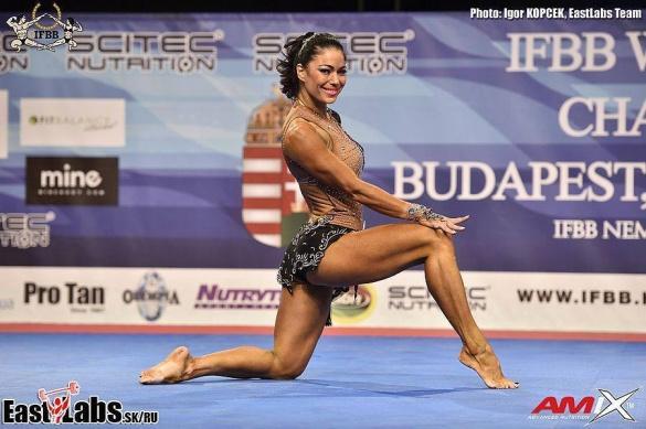 Черкащанка виборола срібло Чемпіонату світу з фітнесу (ФОТО)