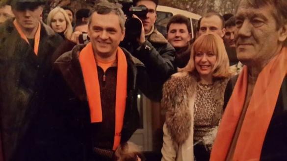 Фото дня. Як міський голова Черкас та голова обласної ради Ющенка в Лисянці зустрічали