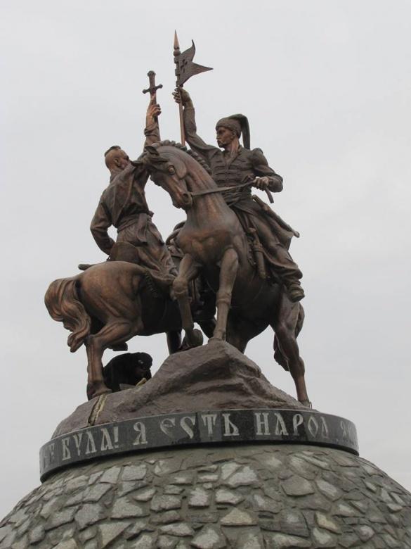 На Черкащині відкрили пам'ятник, висотою понад 8 метрів