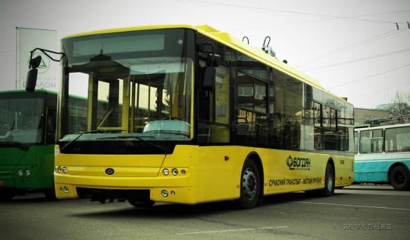 Нові тролейбуси мають бути у Черкасах до кінця року