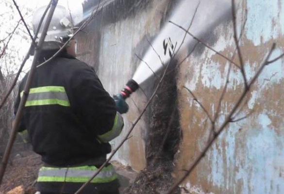 На Шполянщині мало не згорів житловий будинок (ВІДЕО)