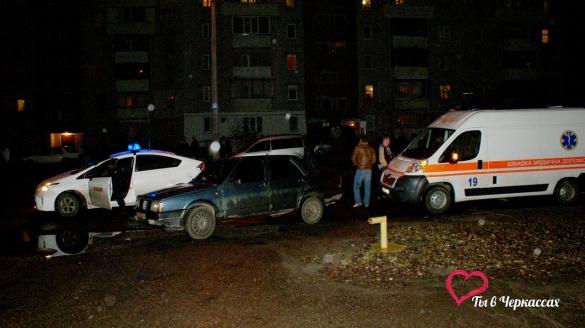 ДТП у Черкасах: молода дівчина перебігала дорогу і не побачила авто (ФОТО)