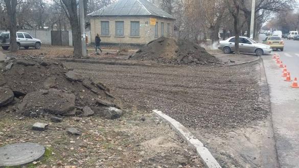 Черкащани в шоці: у місті ремонтують ще одну вулицю