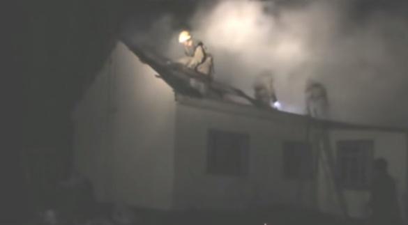 За добу на Черкащині загорілося чотири будинки (ВІДЕО)