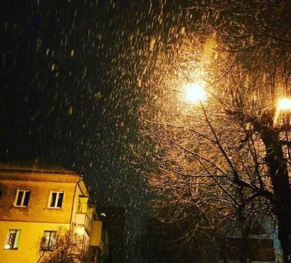Містяни зібрали фото першого снігу в Черкасах