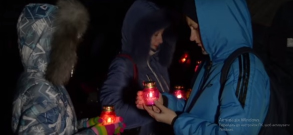 Черкащани вшанували жертв Голодомору пам'ятною ходою (ВІДЕО)