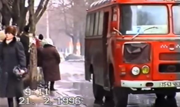 Як виглядав у Черкасах громадський транспорт в 1996 році? (ВІДЕО)