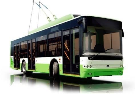 З'явилися перші фото нових тролейбусів для Черкас