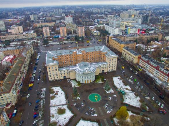 Черкаси на долоні: яким є місто у перші дні зими (ВІДЕО)