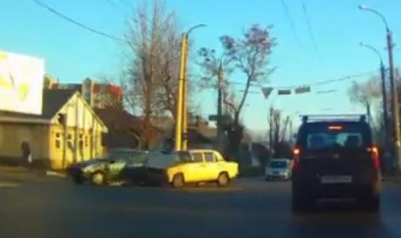 У Черкасах на Котовського знову сталася ДТП (ВІДЕО)