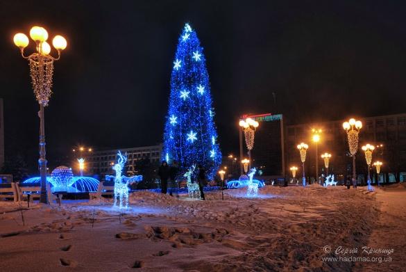Казкові вихідні у Черкасах: новорічна ялинка, герої та поезія