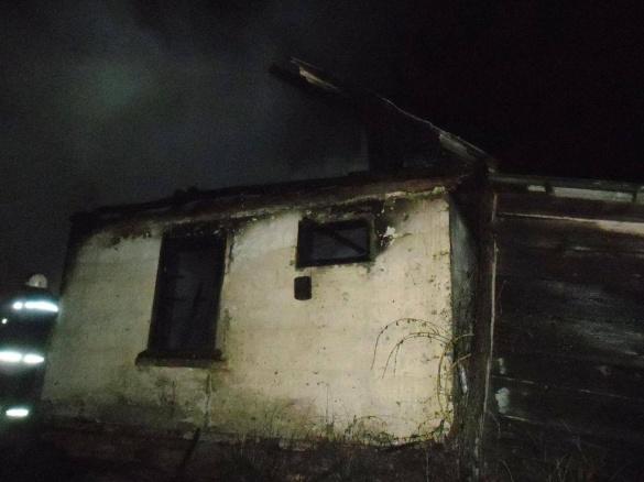 Пожежа на Черкащині: серед причин розглядають умисний підпал