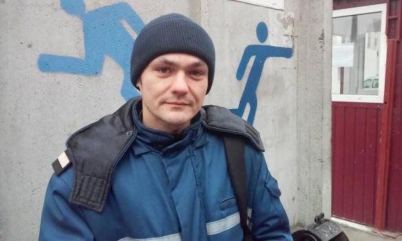 Черкаський рятувальник вибіг із маршрутки, щоб допомогти постраждалому в ДТП