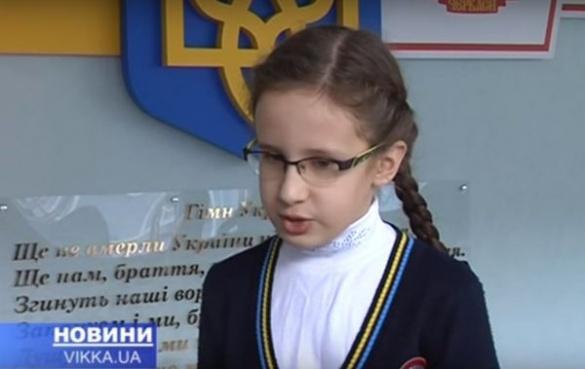 В одній із черкаських шкіл навчається дівчинка-вундеркінд
