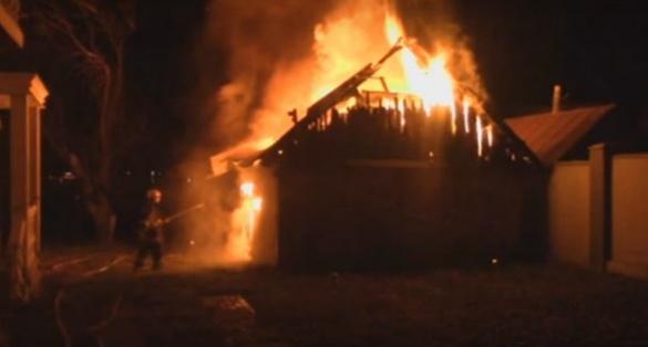 Пожежа у селі на Черкащині знищила сарай