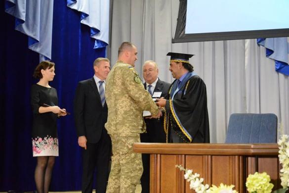 Екс-депутата Черкаської міськради нагородив шейх