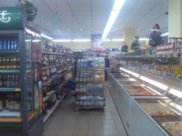 Черкащани знову скаржаться на безлад в супермаркеті (ВІДЕО)