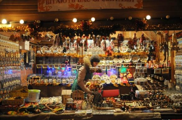 Щотижня черкащанам влаштовують новорічні розваги в центрі міста