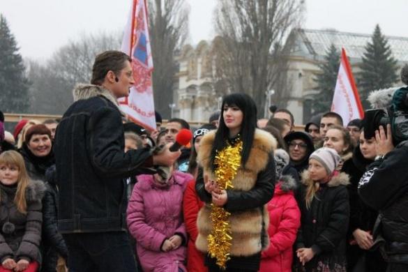 """Черкащани """"підірвали"""" шоу """"Караоке на Майдані"""""""
