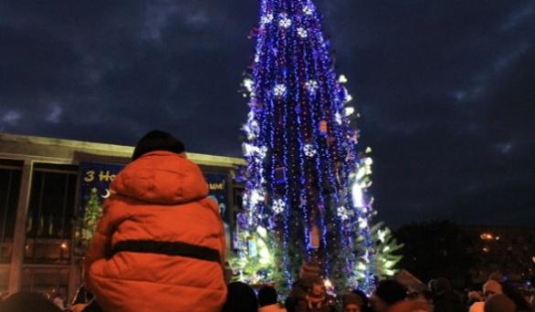 Головна ялинка Черкас втрапила до рейтингу новорічних дерев країни