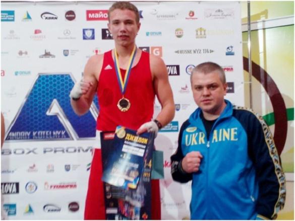 Дмитро Майдаков знову став кращим боксером України