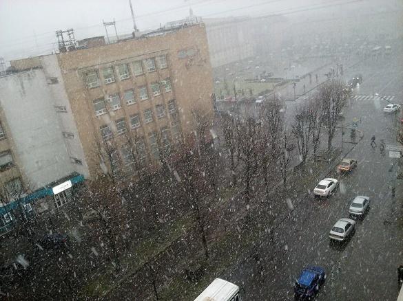 Напередодні Нового року на Черкащині випаде сніг