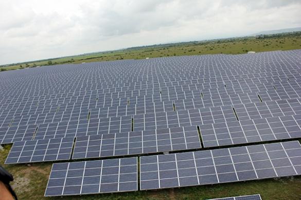 На Черкащині три сонячні станції дають енергію містам