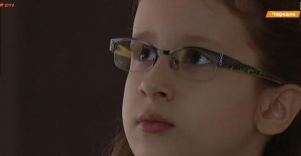 Дівчинка-вундеркінд із Черкас мріє зробити ліки від всіх хвороб