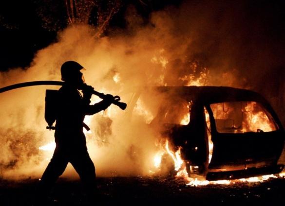 За вихідні на Черкащині згоріло два автомобілі