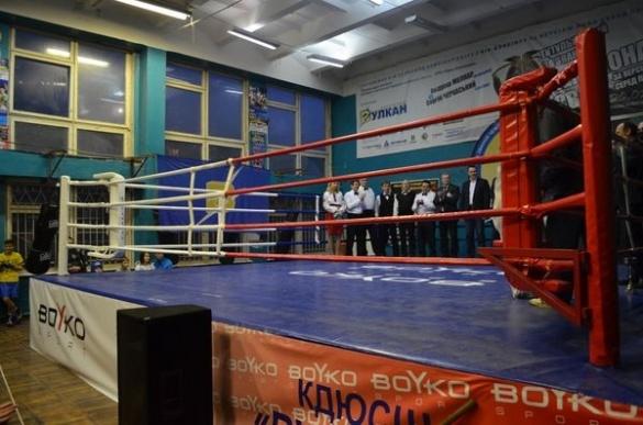 У Черкасах відкрили перший олімпійський ринг (ФОТО)