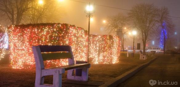 Якими є Черкаси у переддень Нового року (ФОТО)