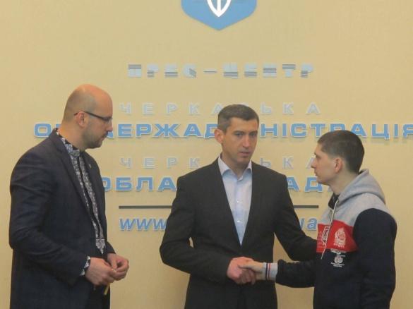 Родинам черкаських АТОвців вручили ключі від нових квартир